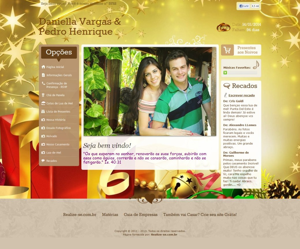 Visualizar Tema: Dreaming Christmas