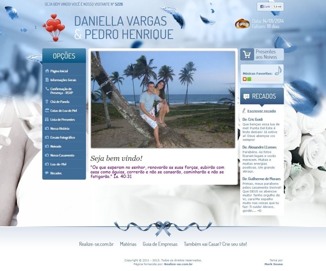 Visualizar Tema: Wonderful Azul
