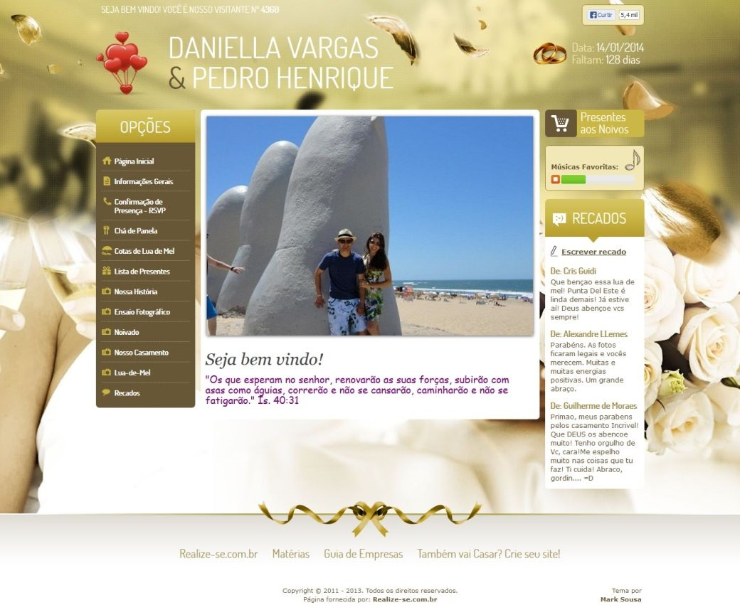 Visualizar Tema: Wonderful Dourado